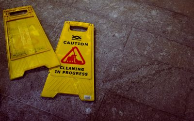 Vigilance in maintaining a hazard-free environment for customers