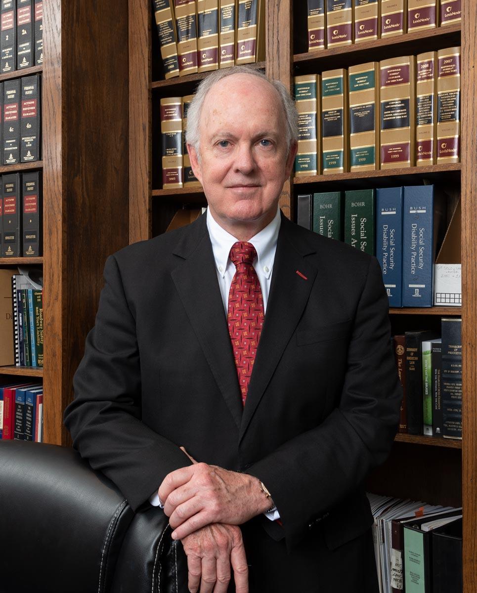 Portrait of Mark Knight, attorney